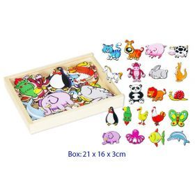 Magnetic Animals - 20 pieces