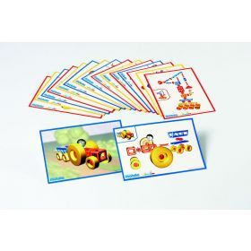 Mobilo Construction Toy -12 Work Cards
