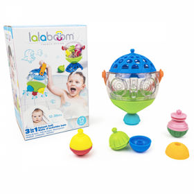 Lalaboom Bath Ball & 8 Pcs Beads