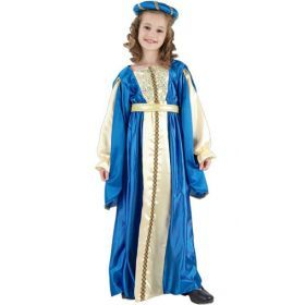 Children Costumes - BLUE PRINCESS