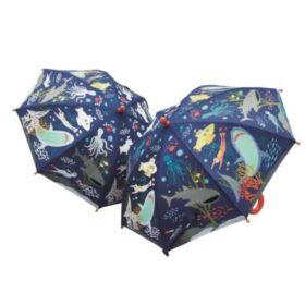 Colour Changing Umbrella - Deep Sea