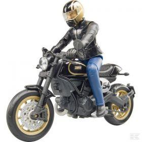 Bruder Ducati Scrambler Cafe Racer