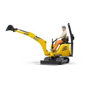 Bruder JCB Micro excavator 8010 CTS and man