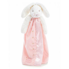 Bunnies By The Bay Buddy Blanket Blossom Bunny Pink 40Cm