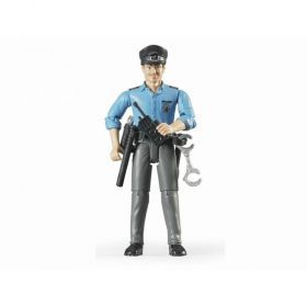 Bruder Policeman with Accessories