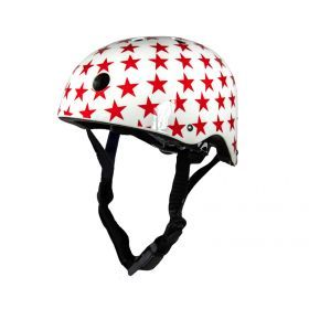 Small White with Stars Helmet