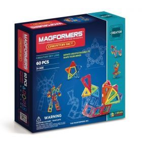 Magformers Creator Set - 60 Pieces