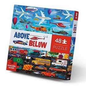 Crocodile Creek Above & Below Things That Go 48 Piece Puzzle