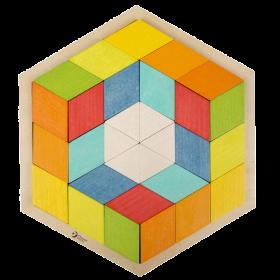 36 piece 3D Puzzle with Design Cards