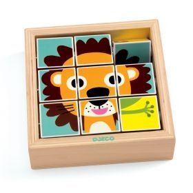 Djeco Touranimo Wooden Animal Puzzle