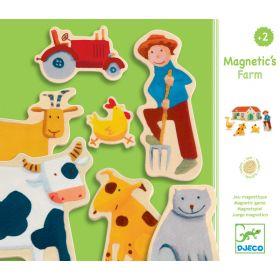 Djeco Magnetics Farm