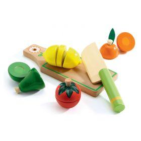 Fruit & Vegies To Cut Role Play Set