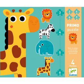 Djeco Jungle First 18 Piece Puzzle