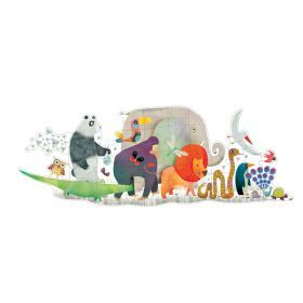Djeco Giant Animal Parade Puzzle - 36 pieces