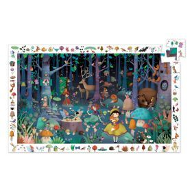 Djeco Enchanted Forest Observation Puzzle 100pc