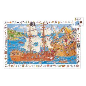 Djeco Observation Puzzle Pirates 100 pieces