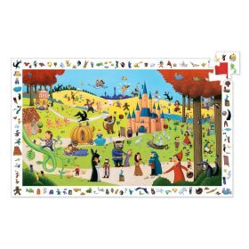 Djeco Tales 54pc Observation Puzzle