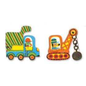 Duo Vehicles 12pc Puzzle