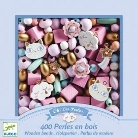 Djeco Rainbow Wooden Beads
