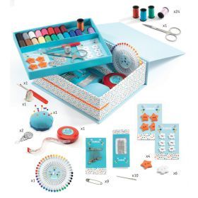 Djeco Sewing Box - First Sewing Set