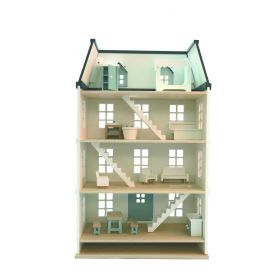 EverEarth Dolls House with Furniture