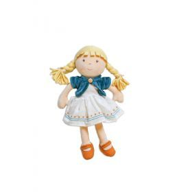 Lily Blonde Hair Organic Doll