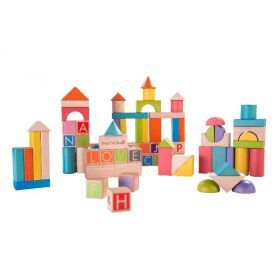 EverEarth Build & Learn Block Set 80 pcs