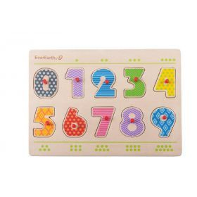 EverEarth Number Peg Puzzle
