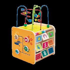 ELC - Wooden Large Activity Cube