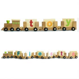 EverEarth Personalised Name Train