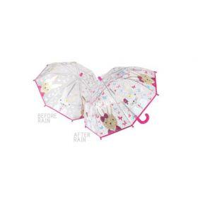Colour Changing Umbrella - Bunny