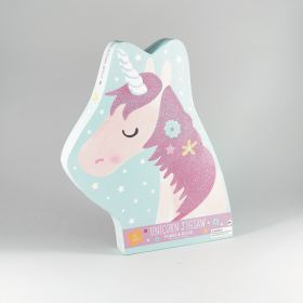 Unicorn Shaped Puzzle - 40 Piece