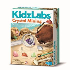 4M - KidzLabs - Crystal Mining
