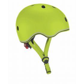 Globber Helmet w/Flashing Light - Lime Green 46-51cm