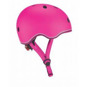 Globber Helmet w/Flashing Light - Pink 46-51cm