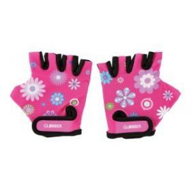 Globber Gloves - Flowers Pink