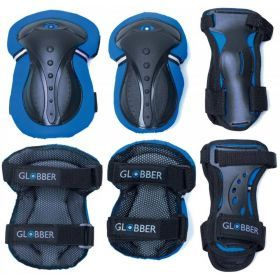 Child's Knee, Wrist and Elbow Pads XXS - Navy Blue - Globber