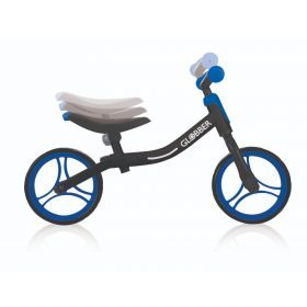 Globber Go Balance Bike - Black and Navy