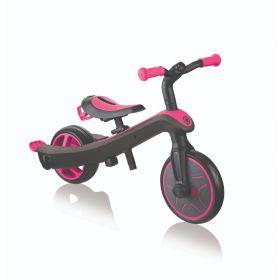 Globber Explorer Trike 4 in 1 -Pink