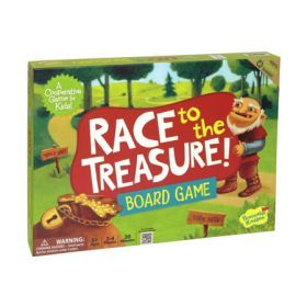 Peaceable Kingdom - Board Game - Race to the Treasure