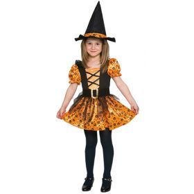 Halloween ORANGE WITCH
