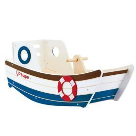 Hape Wooden Rocking Boat