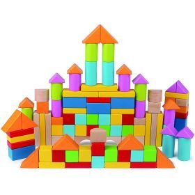 Hape 101 Piece Wonderful Blocks
