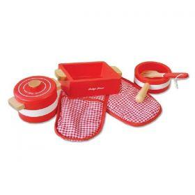 Indigo Jamm Pots 'n' Pans Red