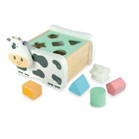 Cow Geo Sorter - Pastel
