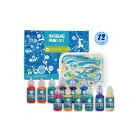 Marbling Paint Kit - 12 Colors