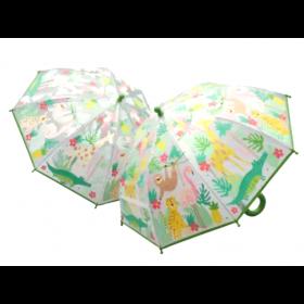 Colour Changing Umbrella - Jungle