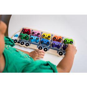 1-10 Car Puzzle