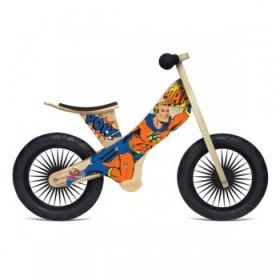 Kinderfeets Balance Bike - Retro Superhero