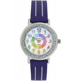 Kiddus Watch - Water Resistant - Teaching Watch - Purple